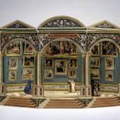 Das Kleine Belvedere oder Mignon-Bildergalerie Kunsthandlung H.F. Müller, Leopold Chimani Wien, 1839 Karton, Papier, Farblithographie © Bayerisches Nationalmuseum München