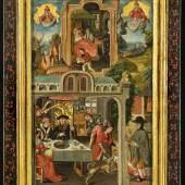 Das Gleichnis vom armen Lazarus, um 1480, Sammlung Marks/Thomée, Deutschland © Foto Anne Gold, Aachen