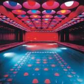 Verner Panton, Swimming pool, Spiegel- Verlagshaus (Hamburg), 1969 © Panton Design, Basel