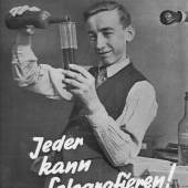 """Eugen Heilig / Ernst Thormann """"Jeder kann fotografieren!"""", Vorlage für den Titel der 2. Sondernummer der Zeitschrift """"Der Arbeiter-Fotograf"""" (Jg. 6, Nr. 6) 1932, Originalabzug Ernst-Thormann-Archiv"""