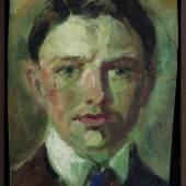 August Macke Studie zu einem Selbstbildnis, 1907 Privatbesitz