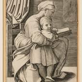 Anonym nach Raffael, Lesende Mutter mit Kind, 16. Jh. © Suermondt-Ludwig- Museum, Foto: Anne Gold, Aachen
