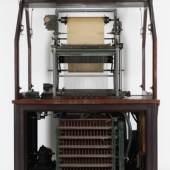 Aufnahmeapparat von vorn geöffnet (c) Museum für Musikautomaten