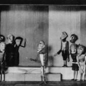 """Gustav Weidanz, Lili Schultz u.a., Marionetten zu Shakespeare """"Die Komödie der Irrungen"""", 1926/27 Foto: historisch, Archiv Burg Giebichenstein"""