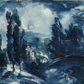 """Maurice de Vlaminck, """"Paysage bleu"""", Foto: Thomas Salis Art & Design"""