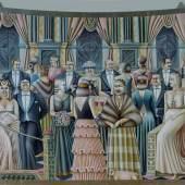 Oskar Kokoschka Karl Kraus II, 1925 Öl auf Leinwand / oil on canvas, 65 x 100 cm Museum moderner Kunst Stiftung Ludwig Wien, erworben / acquired in 1960 © Bildrecht Wien, 2016 Photo: mumok