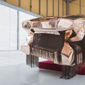 "Roland Reiters Installation ""Twins"" Lamborghini  © Kaja Clara Joo"