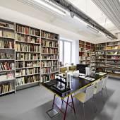 OstLicht. Bibliothek © Michael Kollmann