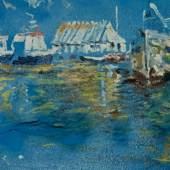Hafen, Boote Entstehungsjahr 1998 Abmessung: 55 x 73