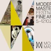 """Plakat """"Modern Masters - Festival of Fine Art in Wien 2019"""""""