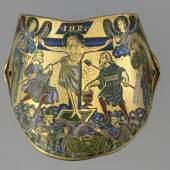 Armilla des Andrej Bogoljubskij, 1170/80 Kupfer, vergoldet, Email, 11,5 x 17 x 4,5 cm Nürnberg, Germanisches Nationalmuseum © Germanisches Nationalmuseum, Nürnberg; Foto: Monika Runge