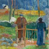 Paul Gauguin Bonjour Monsieur Gauguin, 1889Öl auf Leinwand, 92,5 x 74 cmNationalgalerie Prag© Nationalgalerie Prag
