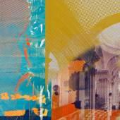 Martina Stock Bildsujet / Einladungskarte, 2021, 100 FEMALE VOICES Portraits bedeutender Künstlerinnen aus 100 Jahren Salzburger Festspiele © Bildrecht Wien, 2021 (