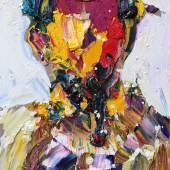 """""""Gustav Klimt 3"""", 2017, Öl auf Leinwand, 117 x 72 cm Foto: Schütz Fine Art - Chinese Department"""