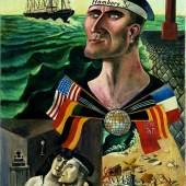 Otto Dix Abschied von Hamburg 1921
