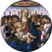Sandro Botticelli: Tondo Raczynski, 1477 Staatliche Museen zu Berlin, Gemäldegalerie / Jörg P. Anders