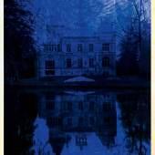 Kasteel Tivoli / Schloss Tivoli (1.3 MB) Jan Fabre 1991 Serie: Het Uur blauw/ Die Blaue Stunde Bic-Kugelschreiber auf Cibachrom und Holz 1720 x 1250 mm Privatsammlung © VBK, Wien 2010; Foto © Angelos