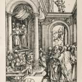 Albrecht Dürer, Marias Geburt, um 1501-1511 © Suermondt-Ludwig-Museum, Foto: Anne Gold, Aachen