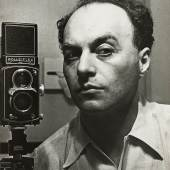 Selbstporträt Hermann Landshoff, New York um 1942 © Münchner Stadtmuseum Archiv, Hermann Landshoff