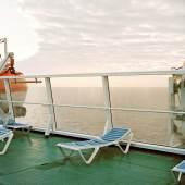 © Eva Leitolf, PfE0171-ES-100109. Überfahrt, Melilla – Almería, Mittelmeer 2009 / Ferry Crossing, Melilla – Almería, Mediterranean 2009. Bildrecht, 2015. Courtesy Kehrer Galerie | Berlin, all rights reserved.