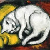 Franz Marc, Weisse Katze