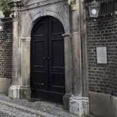 Tor zur Mennonitenkirche in Krefeld © Reymann Architekten