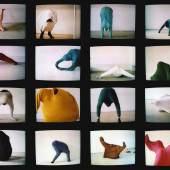 Erwin Wurm 59 Positions, 1992 video still  © VG Bild-Kunst, Bonn 2017 Foto: Studio Erwin Wurm
