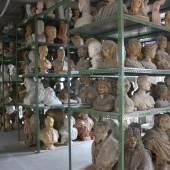Blick in die Modelhalle der Gipsformerei der Staatlichen Museen zu Berlin. © Staatliche Museen zu Berlin, Gipsformerei / Thomas Schelper