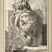 Theodor Lubieniecki: Kopf eines sterbenden Kriegers. Berlin, 1696. © Wien, Graphische Sammlung A