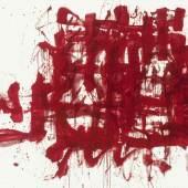 Arnulf Rainer Übermalung violett, 1961 Öl, Ölkreide auf Leinwand / oil, wax crayon on canvas, 200 x 80,3 cm Museum moderner Kunst Stiftung Ludwig Wien, Leihgabe der /on loan from the Artothek des Bundes, seit / since 1983 © Arnulf Rainer Photo: mumok