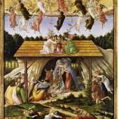 Sandro Botticelli: Mystische Geburt, 1500. © The National Gallery, London