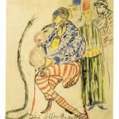 Else Lasker-Schüler, Der Schlangenanbeter auf dem Marktplatz in Theben, 1912 Franz Marc Museum, Kochel a. See Stiftung Etta und Otto Stangl