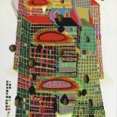 """Friedensreich Hundertwasser: """"Good Morning City - Bleeding Town"""""""