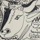 Pablo Picasso, Ohne Titel. 27. Oktober 1964, Filzstift auf Papier © Succession Picasso / VG Bild-Kunst Bonn, 2015