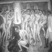 Ernst Ludwig Kirchner Das Soldatenbad (Gordon 434, 1915) Glasnegativ Kirchner Museum Davos, Schenkung Nachlass Ernst Ludwig Kirchner 1992