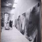 Ohne Titel (Palazzo Chupi, Atelier), 2008 © Julian Schnabel