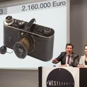 07 Leica 0-Serie aus dem Jahr 1923 (2,16. Mio Euro) © WestLicht Photographica Auction