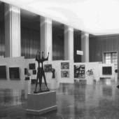 Ausstellung brasilianischer Künstler, Installationsansicht, 1959, Archiv des Künstlerverbundes im Haus der Kunst München e. V.