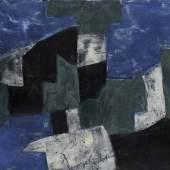 Serge Poliakoff Composition, 1959 Öl auf Leinwand 60 x 73 cm Kunstsammlungen Chemnitz – Museum Gunzenhauser Eigentum der Stiftung Gunzenhauser, Chemnitz Foto: Kunstsammlungen/PUNCTUM/Bertram Kober © VG Bild-Kunst, Bonn 2018