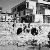 © Anton Schweighofer, Stadt des Kindes, Freiraum Gestaltung, Wilfried Kirchner, Wien 14, 1969-1974 Bild: Architekturzentrum Wien, Sammlung