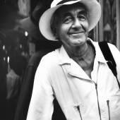Melchior Imboden, Porträt von René Burri, 1999, © Melchior Imboden