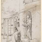 Hans Baldung Grien, Die Geburt Christi. Amerbach-Kabinett Koch Nr. 10