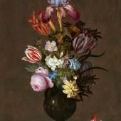 Lot 1029 Johannes Bosschaert Blumenstillleben mit Eidechse Öl auf Holz, 50,2 x 34,3 cm Schätzpreis: € 200.000 – 250.000,-