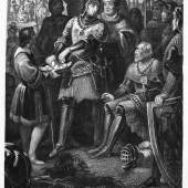 Ludwig der Bayer nach der Schlacht bei Mühldorf 1322