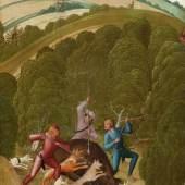 Rueland Frueauf d. J., Sauhatz, um 1505 © Stiftsmuseum Klosterneuburg