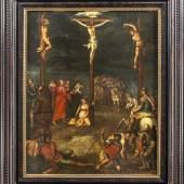 Cornelis Springer (1817-1891), niederländischer Genre- u. Ansichtenmaler, studierte an der Amsterdamer Akademie bei Jan van der Stok, Herman G. ten Cate sowie bei K. Karsen, arbeitete in Amsterdam, Brüssel sowie zeitweilig in Deutschland. Limit: 5.500,- EUR