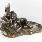 3741 Thomas-Francois Cartier (1879-1943), frz, Figurengruppe zweier Hunde, Limit 3.500,- EUR