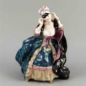 Pos.Nr.: 2281 Die Dame mit der Maske, St Mindestpreis 7.000,– EUR