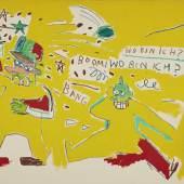 1-Lot 623, Jean Michel-Basquiat_Infantry, 1983