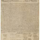 10002 Lot 2122 - Declaration, Stone Facsimile
